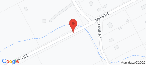 Location map for 190 Bland Rd York