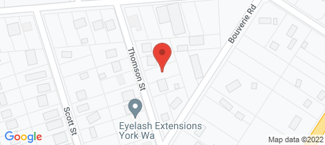 Location map for 8 Thomson St York