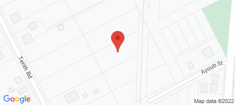 Location map for 5 Tenth Road York