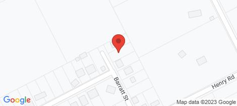 Location map for 12 Barratt Street York