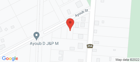 Location map for 7 Ayoub St York