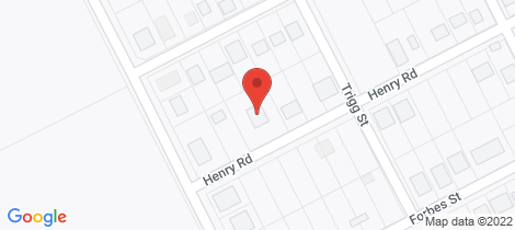 Location map for 80 Henry Rd York