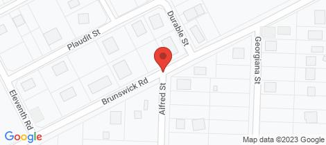Location map for Lot 316 Brunswick Rd York