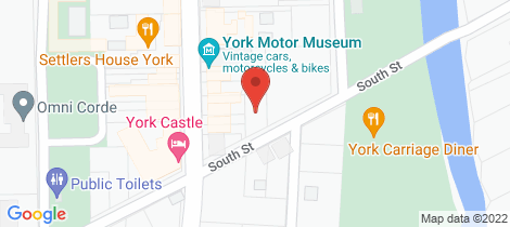 Location map for 6b South St York