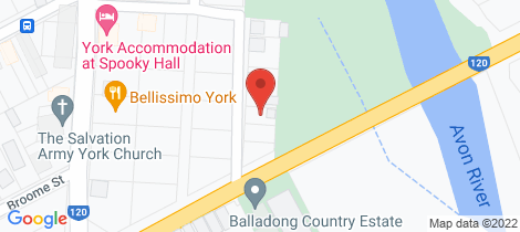 Location map for 6 Thorn Street York