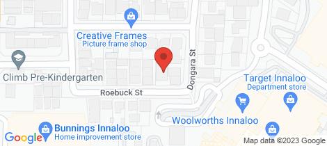 Location map for 6/14 Roebuck Street Innaloo