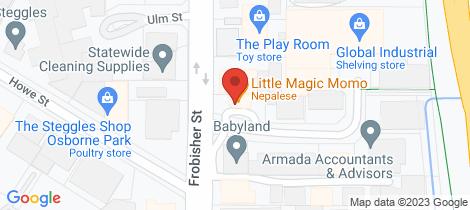 Location map for 1/1 SANGIORGIO COURT Osborne Park