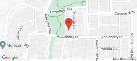 Location map for 3 Nuytsia Lane Churchlands