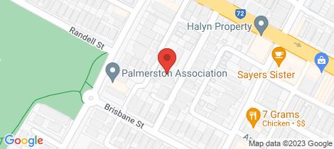 Location map for 9 Dangan Street Perth