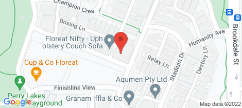 Location map for 7/25 Tomlinson Boulevard Floreat