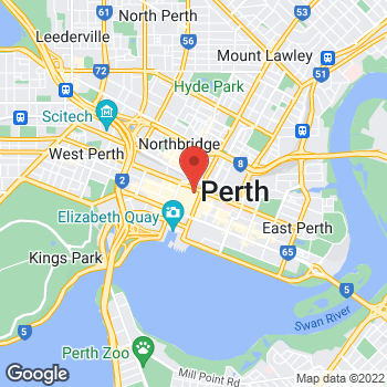 Map of Sunglass Hut at 200 Murray St, Perth, WA 6000