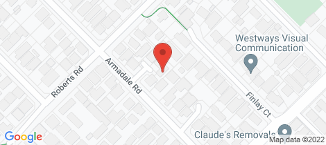 Location map for 4 Salem Place Rivervale