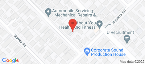 Location map for 3/29 Mort Street Rivervale