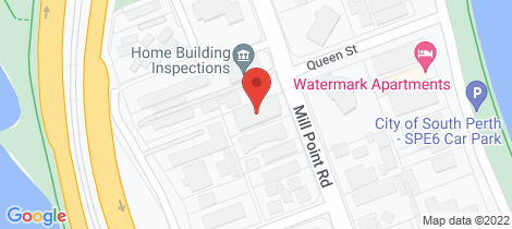 Location map for 2/31 Mill Point Road South Perth