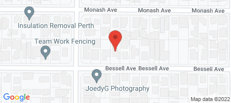 Location map for 94 Bessell Avenue Como