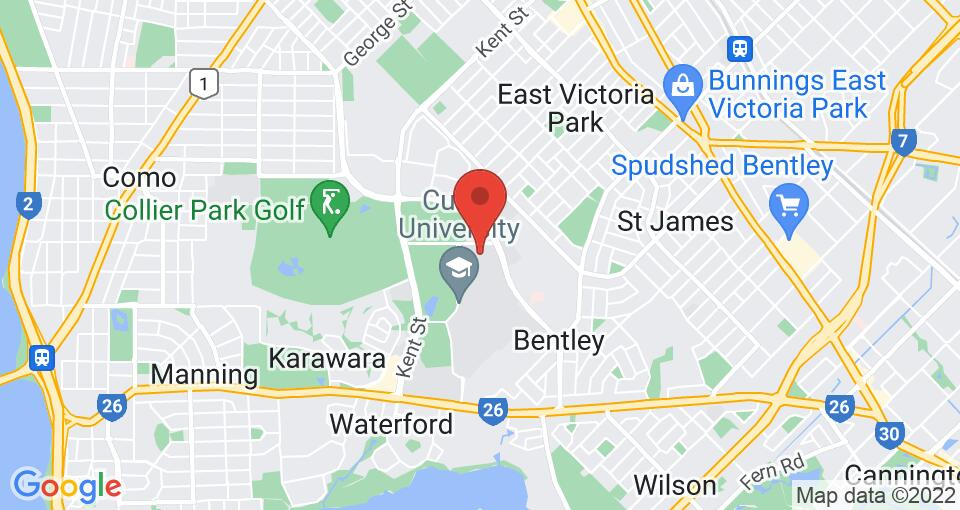 Google Map of UniLodge at Curtin University - Zamia Apartments