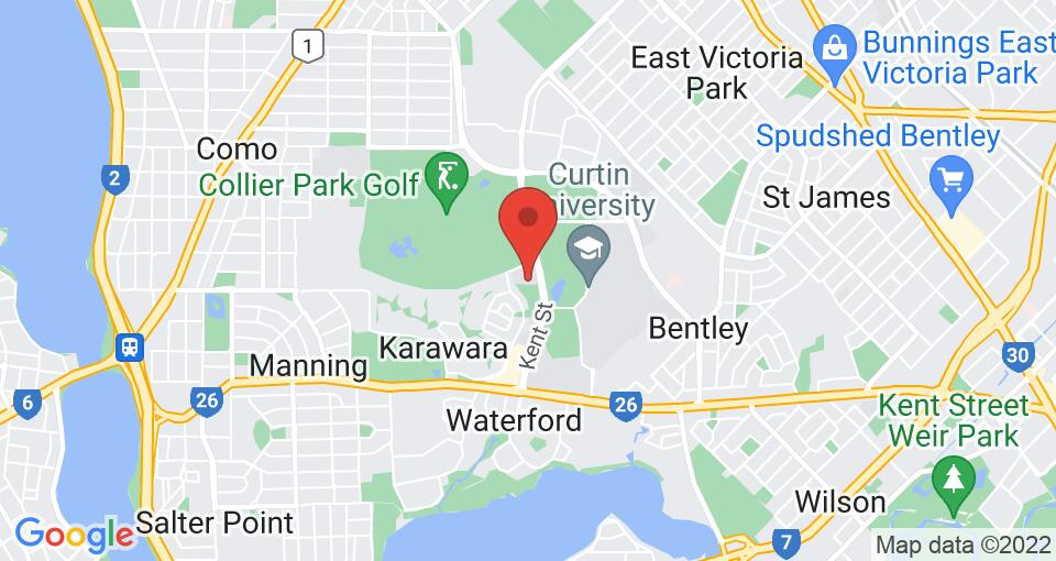 Google Map of UniLodge at Curtin University - Guild House