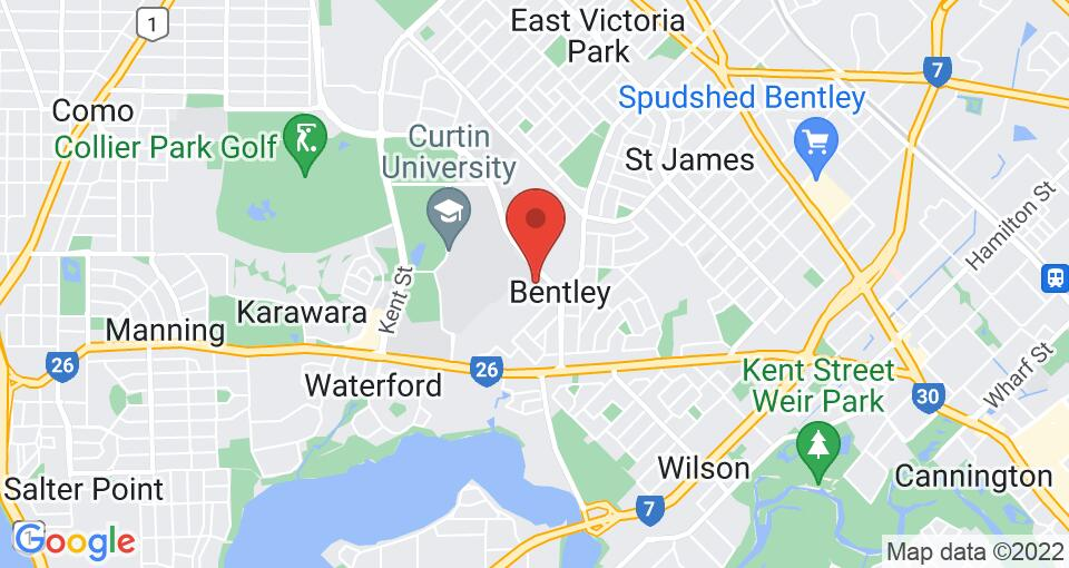 Google Map of UniLodge at Curtin University - Vickery House