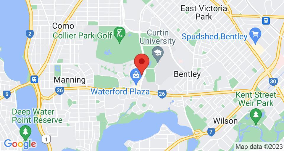 Google Map of UniLodge @ Curtin University - Erica Underwood