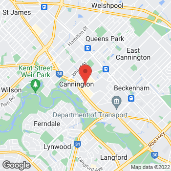 Map of STA Travel at Shop 1158, Carousel Westfield Shopping Centre, Carousel, WA 6107