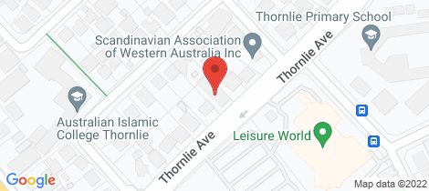 Location map for 67 Norfolk Street North Perth