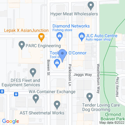 Metro WA - Toolmart O'Connor 20 Bowen Street , O'CONNOR, WA 6163, AU