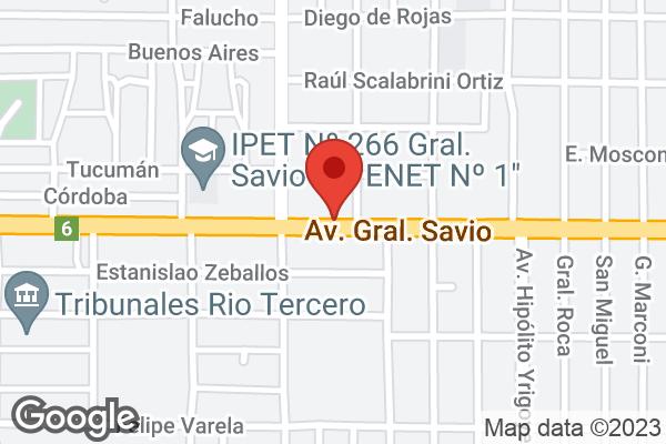 Av. Savio 1571 , Río Tercero, Córdoba, CD