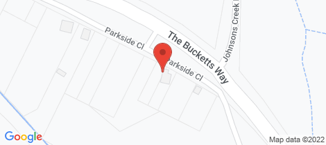 Location map for 51 Parkside Close Stroud Road