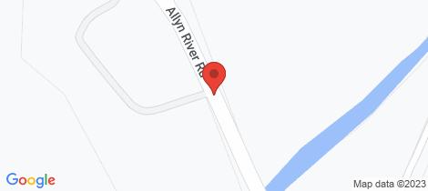 Location map for 708 - 710 Allyn River Road, Allynbrook Via East Gresford