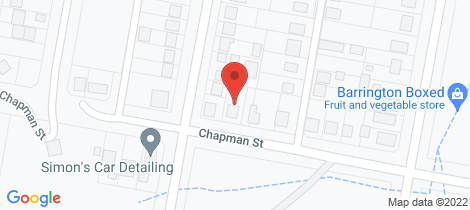 Location map for 75 Chapman Street Dungog