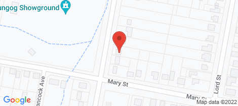 Location map for 39 Abelard Street Dungog