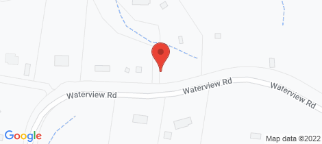 Location map for Lot 2 Waterview Road Clarence Town