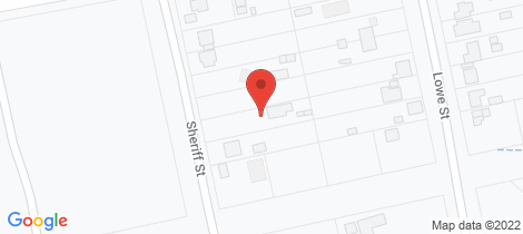 Location map for 22 Sheriff Street Clarence Town