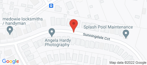 Location map for 72 Sunningdale Circuit Medowie