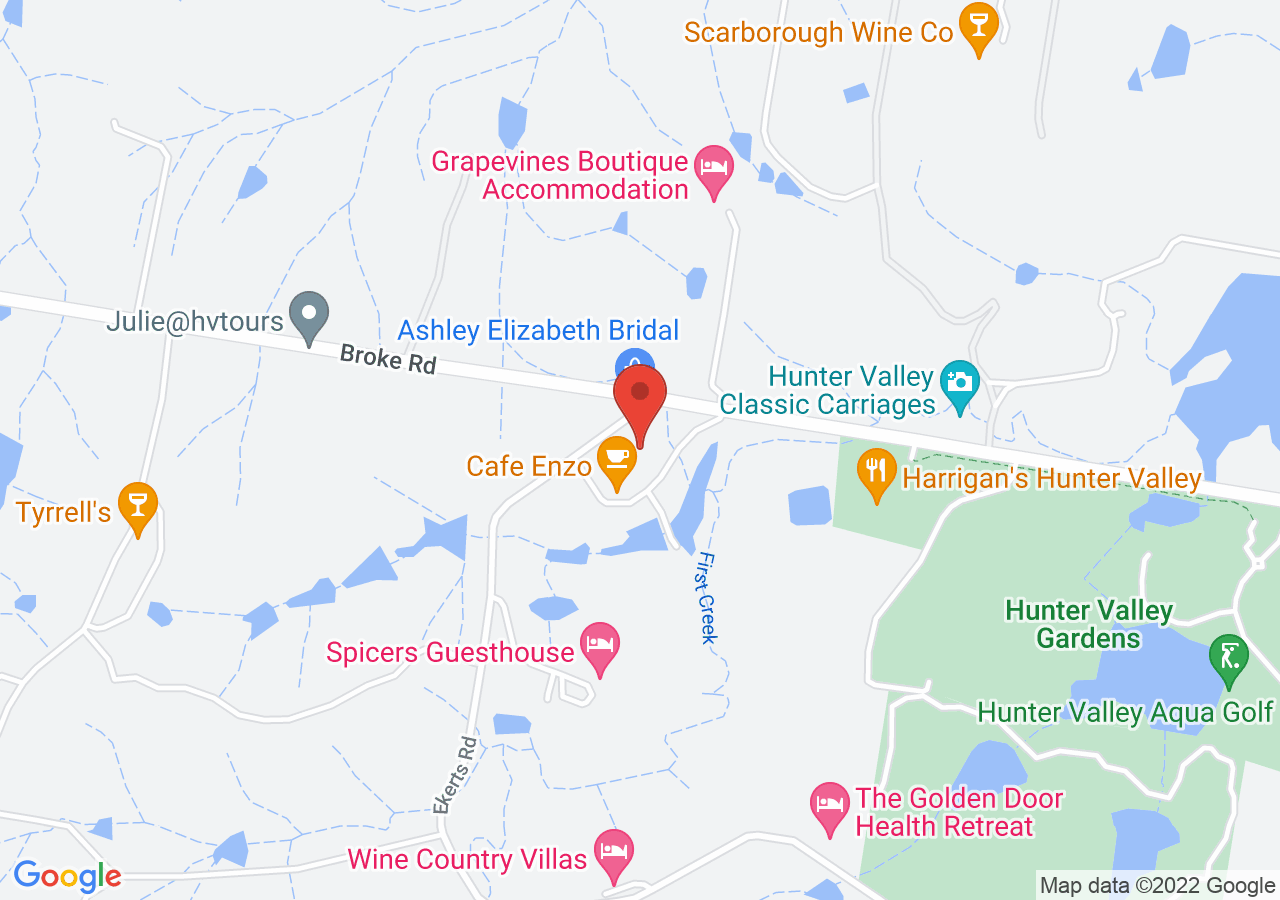 The location of Peppers Creek