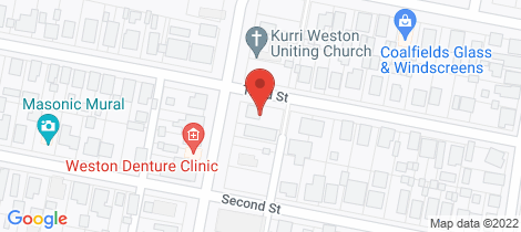 Location map for 89 Station Street Weston