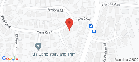 Location map for 5 Yara Crescent Maryland