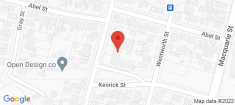 Location map for 29 Fletcher Wallsend