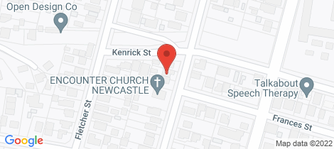 Location map for 59 Wentworth Street Wallsend