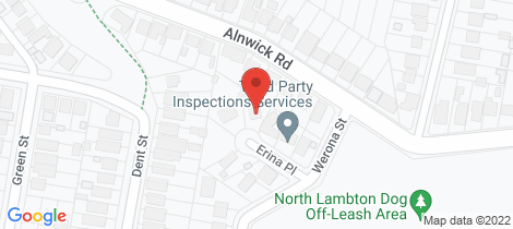 Location map for 8 Erina Place North Lambton