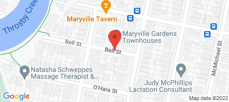 Location map for 6/1 Bell Street Maryville