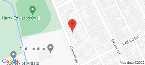 Location map for 50 Karoola Road Lambton