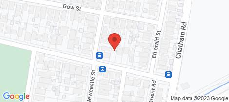 Location map for 8 Boreas Road Hamilton North