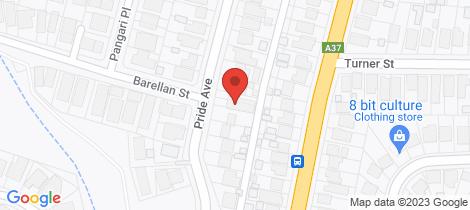 Location map for 21a Pride Avenue Lambton