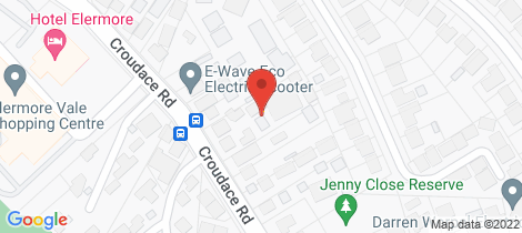 Location map for 6/164-166 Croudace Road Elermore Vale