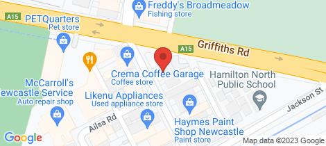 Location map for 101 Broadmeadow Road Broadmeadow