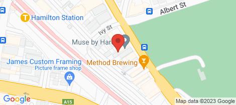 Location map for 102/26 Maitland Road Islington