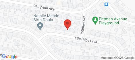 Location map for 28 Etheridge Crescent Edgeworth