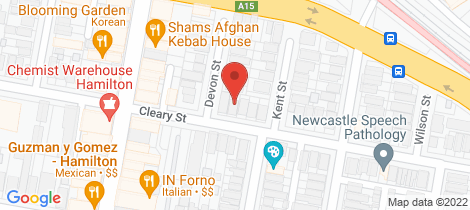 Location map for 44 Cleary Street Hamilton