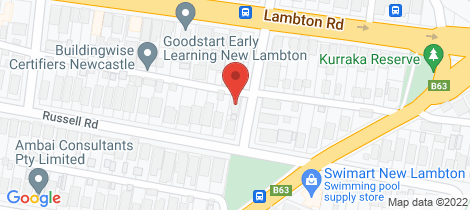 Location map for 18 Greta Road New Lambton